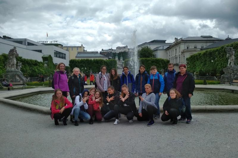 Společené foto třídy- Solnohradsko